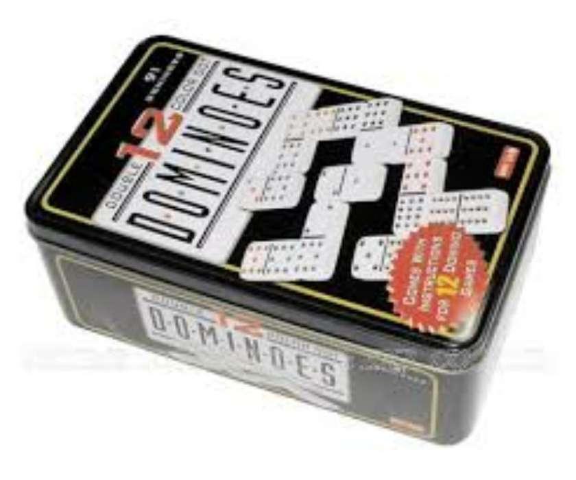 Super Domino 91 Piezas para 13 Jugadores