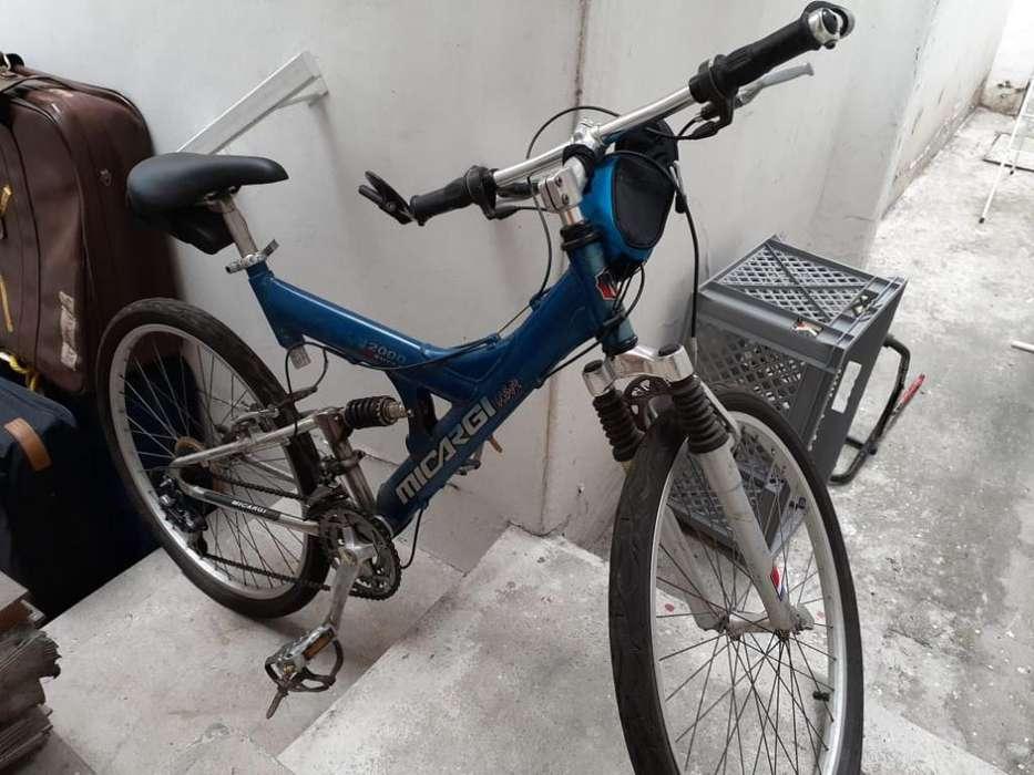 Vendo <strong>bicicleta</strong> Montañera de Aluminio