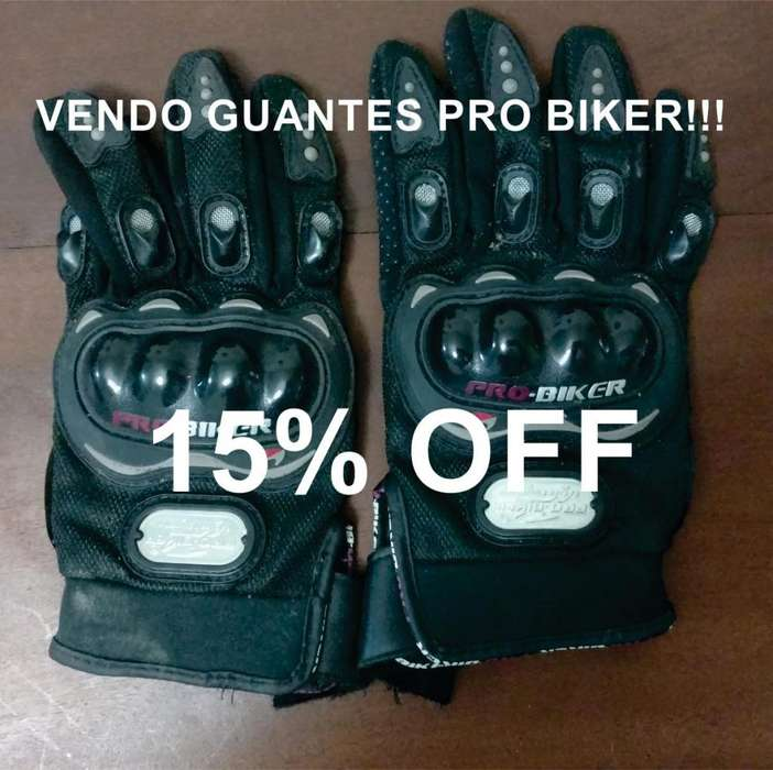 Vendo <strong>guantes</strong> Pro Biker 15% Off!!!