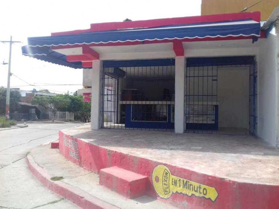 Arriendo local pequeño Av. Barrio Chile Cartagena - wasi_1258851