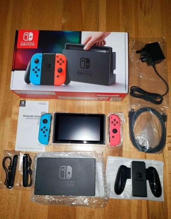 Se Vende Nintendo Switch con Full Cosas