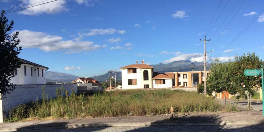 Lindo Terreno Esquinero Urb. San Ignacio, Valle de los Chillos / Colibri / Sangolqui / ESPE / San Luis Shooping
