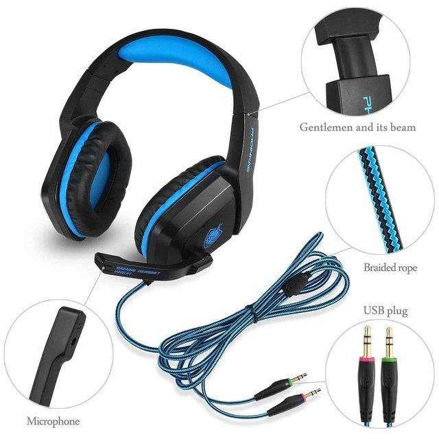 Auricular Gaming Ps4 Laptop Pc Celular H1