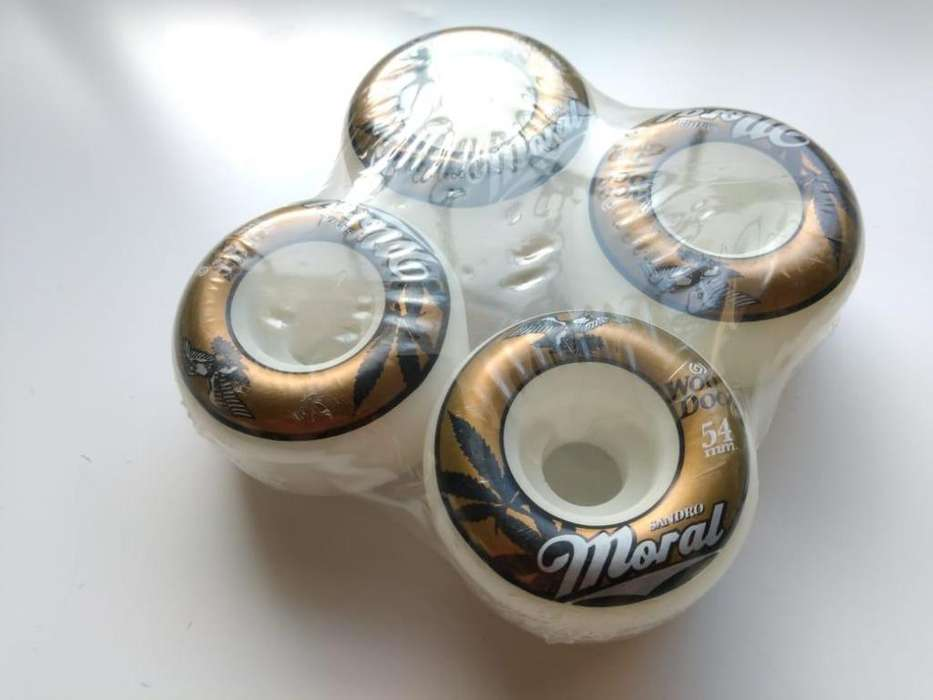 Ruedas Skate Woodoo Moral Eagle Pro 54mm