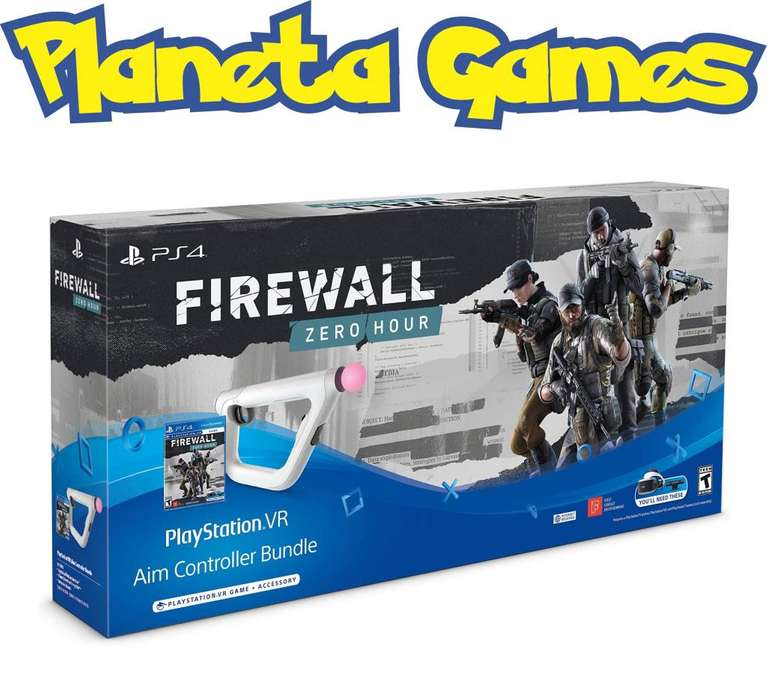 Firewall Zero Hour Aim Controller Playstation Ps4 Nuevos Caja Cerrada