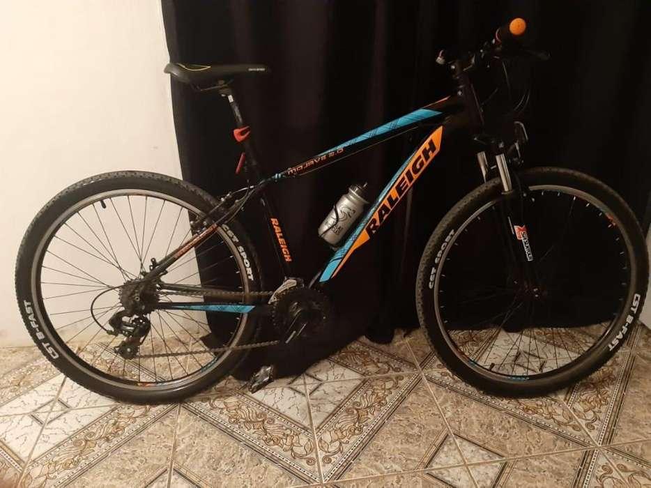 vendo bicicleta raleigh mojave 2.0 usada rodado 27.5 MUY BUEN ESTADO