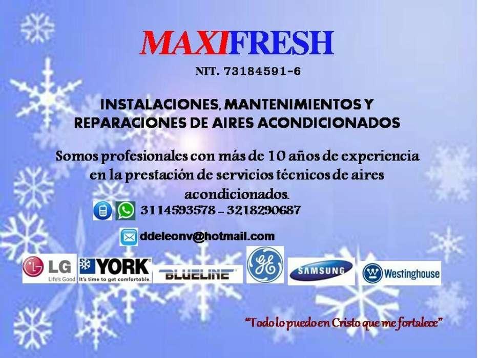 Instalacion, Mtto Y Reparacion de Aires