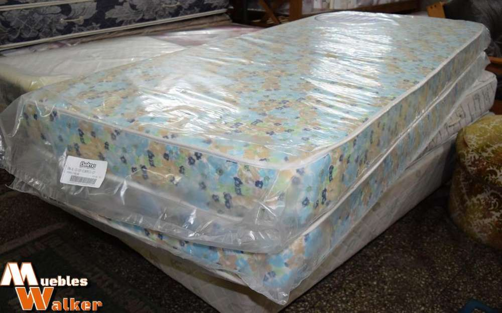 Colchones Belmo de 1 plaza de espuma de poliuretano