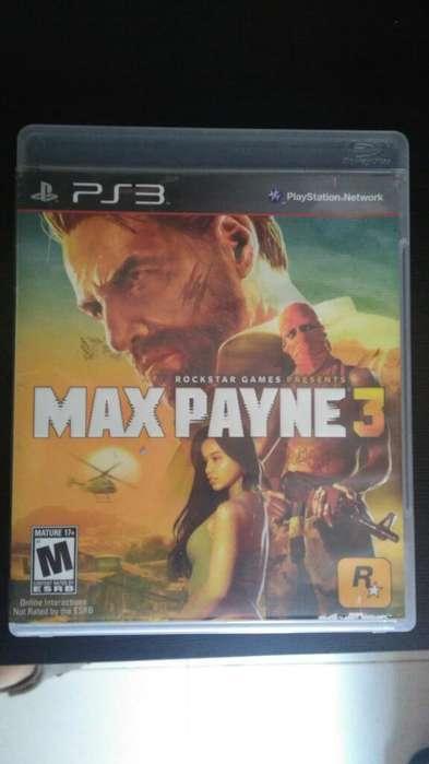 Max Payne 3 Ps3 Play 3 Vendo O Cambio Perfecto Estado