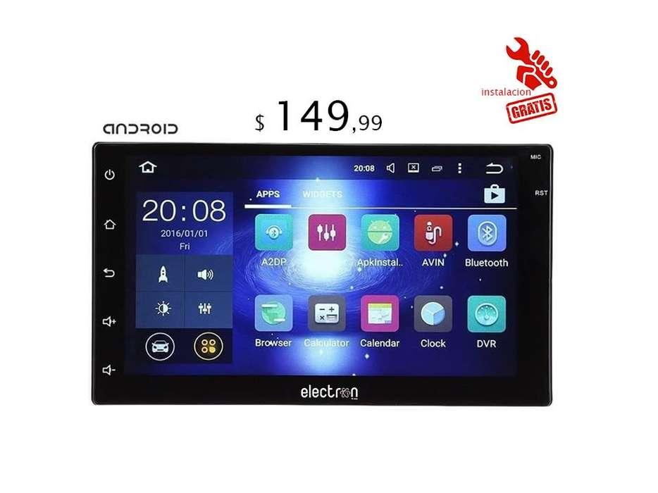 Radio para carro ANDROID 8.0 , 7 pulgadas hd , cpu 4 nucleos 1.5GHz , 1GB /16GB , wifi , bt/ INSTALACIÓN GRATIS