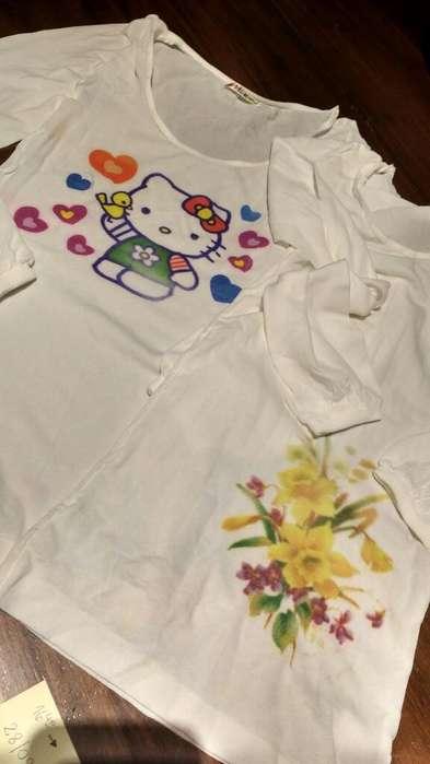 Camisetas Niña Manga Largas Ultimas