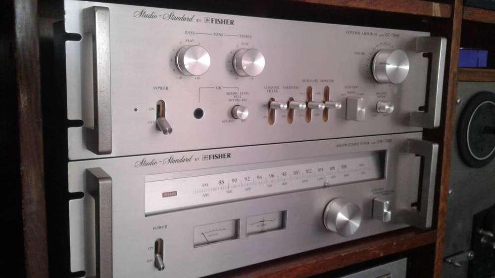 Pre-amplificador Cc7000 Sintonizador Fisher Fm-7000