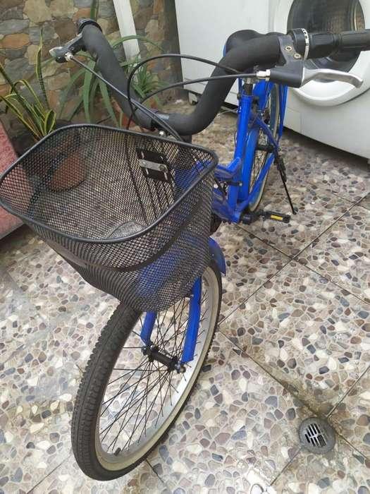 Bicicleta Playera Rin 24 CON Cambios - Azul