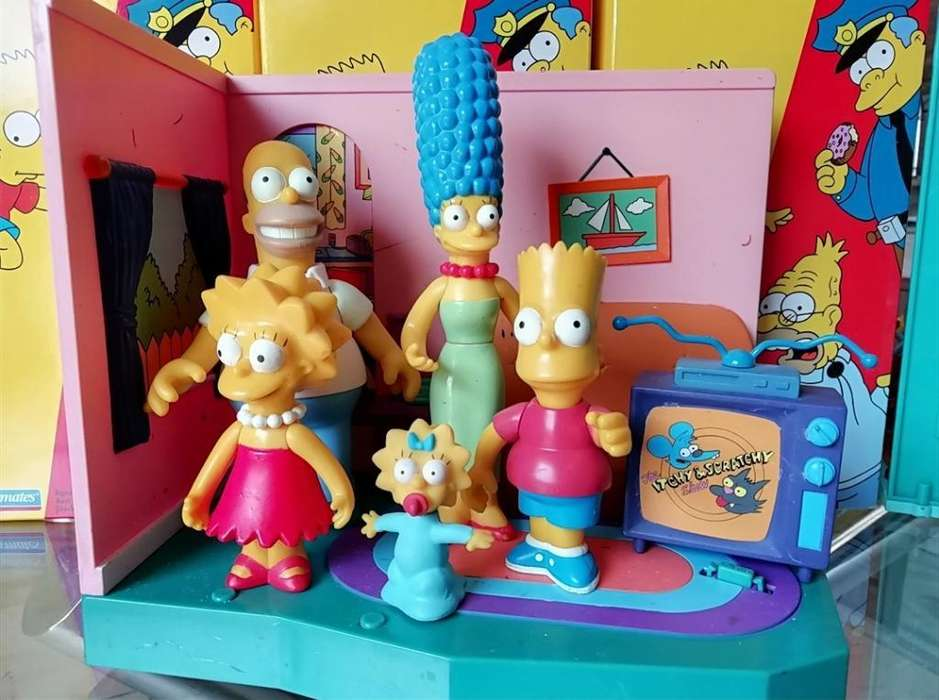 Vendo Figuras Simpsons