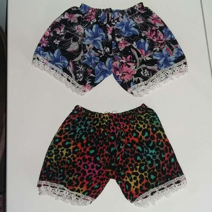 Shorts de Nena Talle 4 Va para 1 Año
