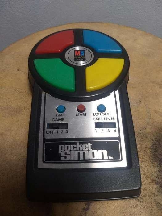 Pocket Simon MB Electrinics 80 Vintage Usado