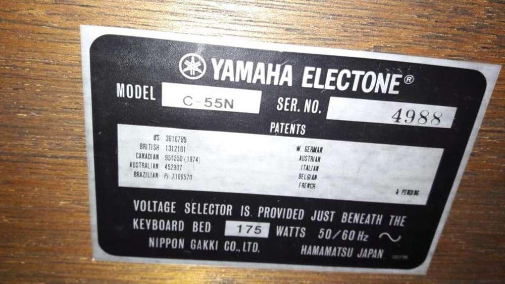 ORGANO YAMAHA ELECTONE C55N