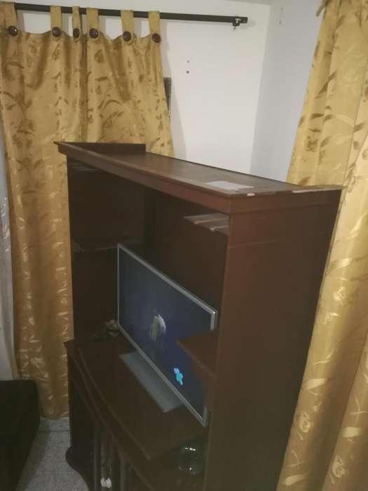 Mueble Bifet para Tv Y Equipo de Sonido