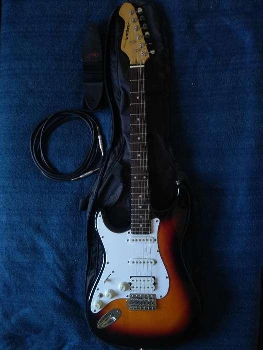 Guitarra Electrica Aria Stg P/ Zurdos