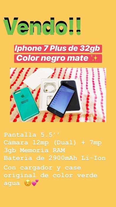 Remato!!! iPhone 7Plus 32Gb
