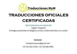 Traductor oficial/traducción oficial/traducciones oficiales inglés-español