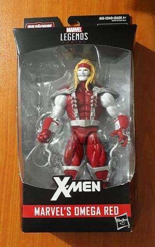Marvel legends Omega Red Gi joe motu heman dc universe star wars