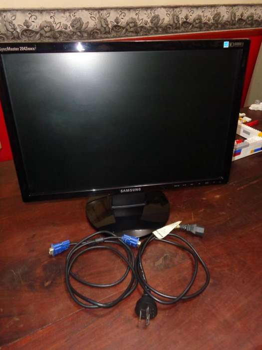 Monitor Samsung 20 Lcd (2043nwx)!!!oportunidad