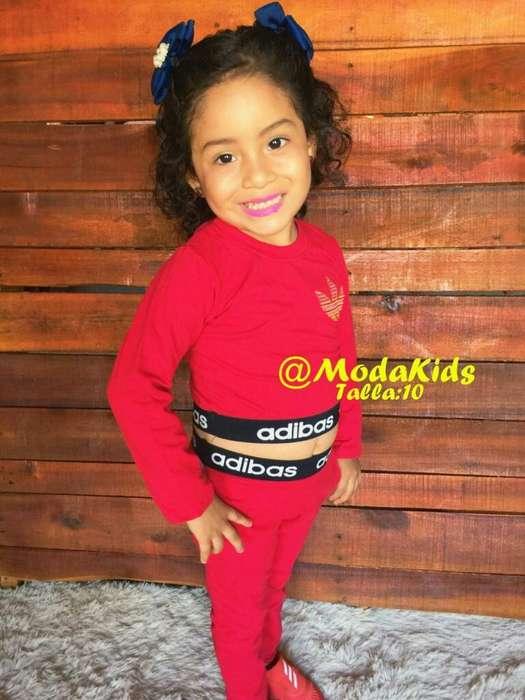 <strong>ropa</strong> Niña de Venta Conjunto Adidas
