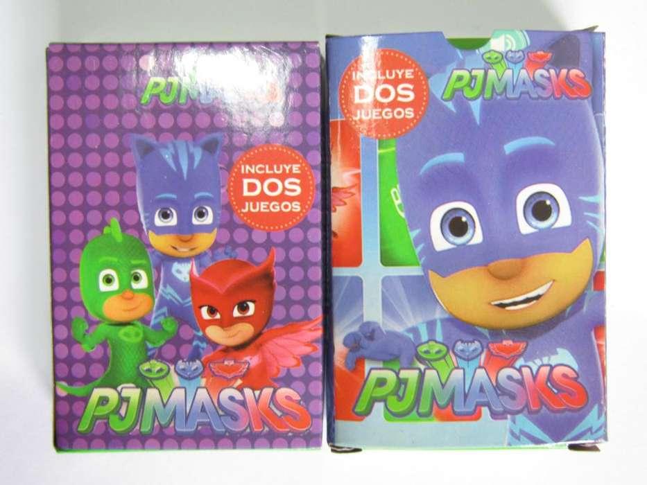 30 <strong>juegos</strong> de Naipes Pj Masks HÉROES EN PIJAMAS. LA PLATA