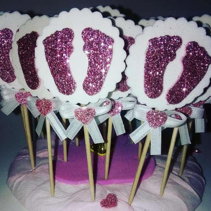 Topper Cupcake Temáticos X 25