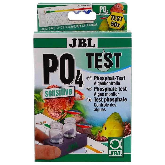 Test De Fosfatos P04 Para Acuarios X50 Pruebas Tropical