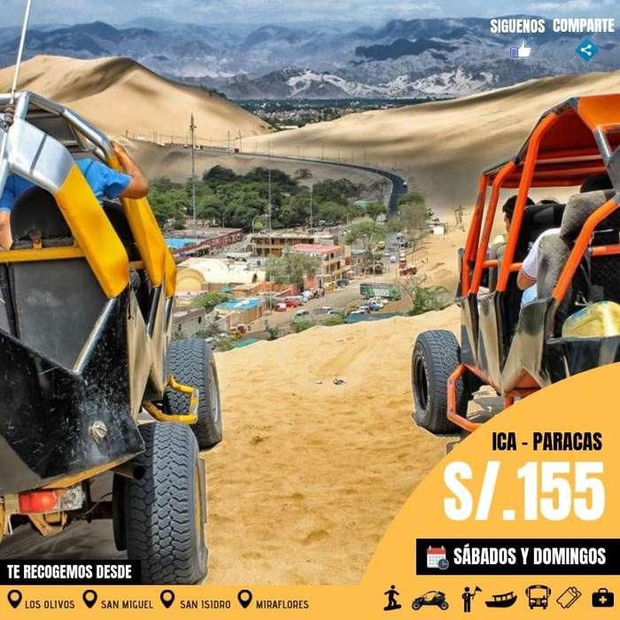 Fulla days a Ica Paracas , salidas desde Lima