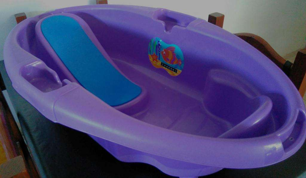 Bañera/Bañadera Bebe Kiddy Atlantis C/ Sensor Termico