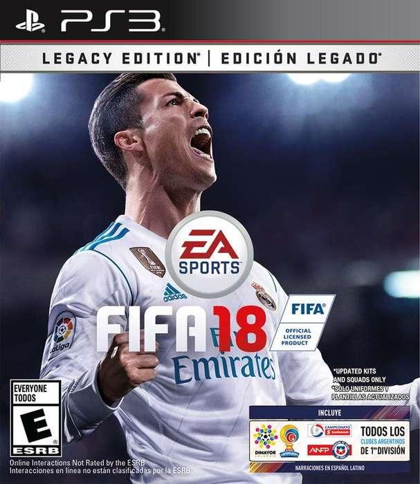 tucumán FIFA 18 Original full para PS3liberada recibimos tde crédito. Play 3