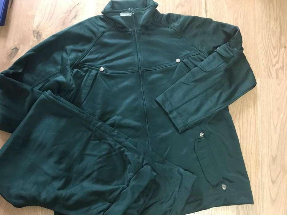 96e182da2e Conjunto de campera y pantalon de  strong jogging  strong  dama color