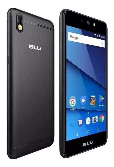 Celular Blu Grand M2 Android 7.0 5.2 Quadcore Flash Frontal