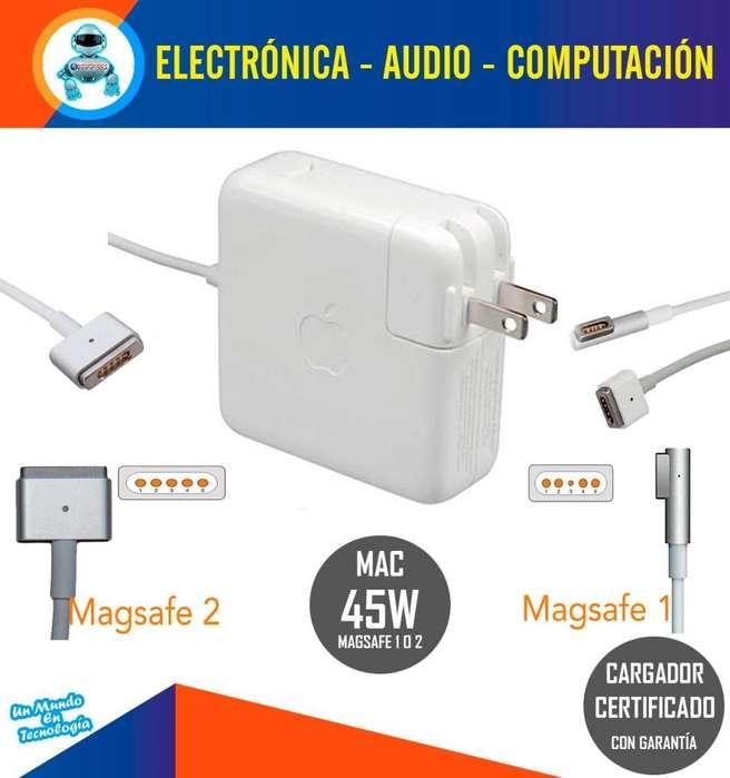 Cargador Macbook Magsafe 1 O 2 De 45 W Certificado Aaa Nuevo
