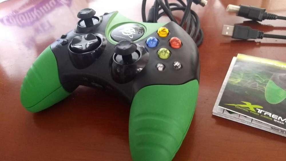 Control Laprtop Pc Xbox 360 Xtreme 2 en 1 Acteck