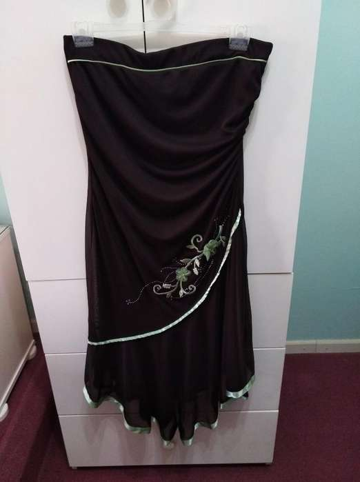 Vestido en Gasa Talle S