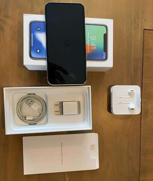 iPhone X 256 Gb Silver Perfecto