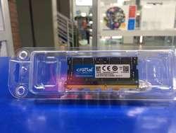 MEMORIA RAM DDR4 8 GB CRUCIAL PC Y PORTATIL NUEVA !!