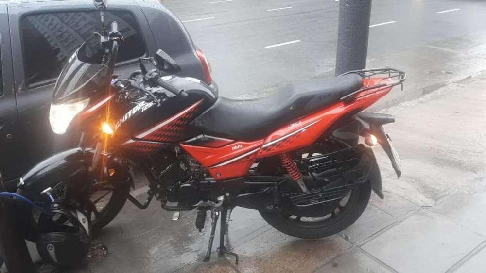 Hero Ignitor 125cc Poco uso y unico dueño