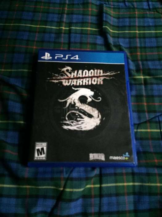 Juego de PS4 Shadow Warrior