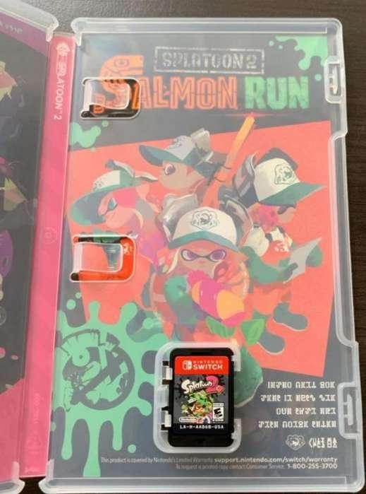 Splatoon 2 Nintendo Switch