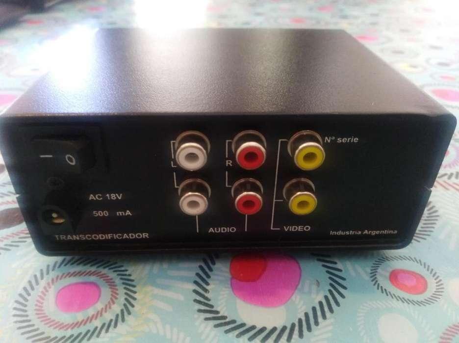 Transcodificador Palb A Paln Norma Tv Europa B Y N A Color