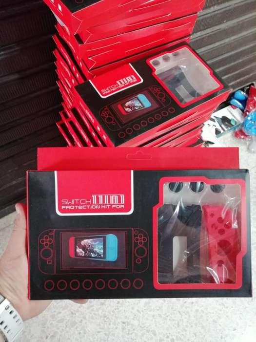 Kit de Siliconas para Nintendo Swicht