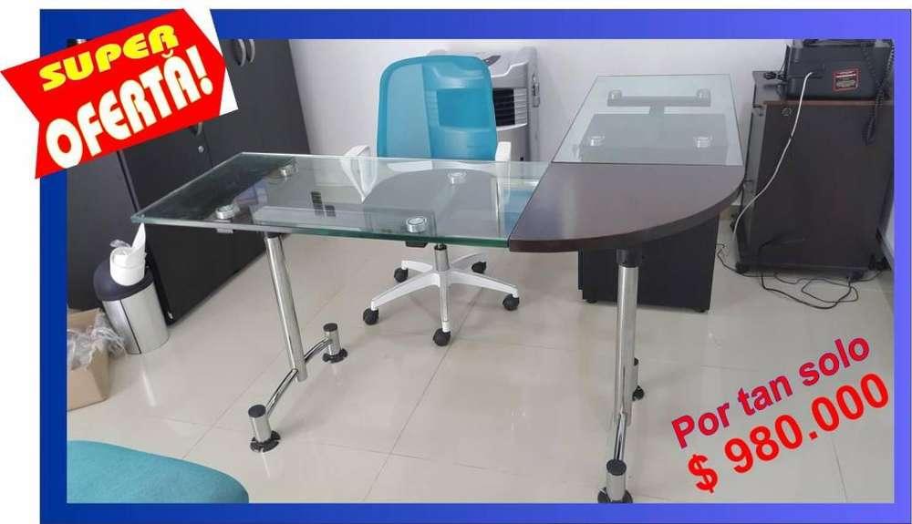 <strong>escritorio</strong>s de vidrio para oficinas