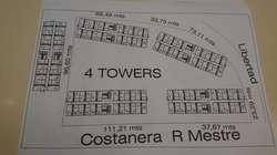 Gral Paz, costa del río: Terreno 12184m2 para construccion de torres
