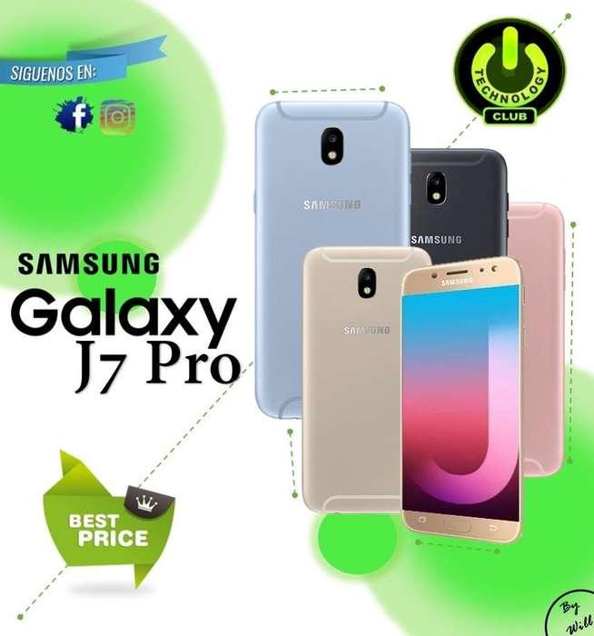 <strong>samsung</strong> J7 Pro todos los colores 32 Gb / Tienda física Centro de Trujillo / Celulares sellados Garantia 12 Meses