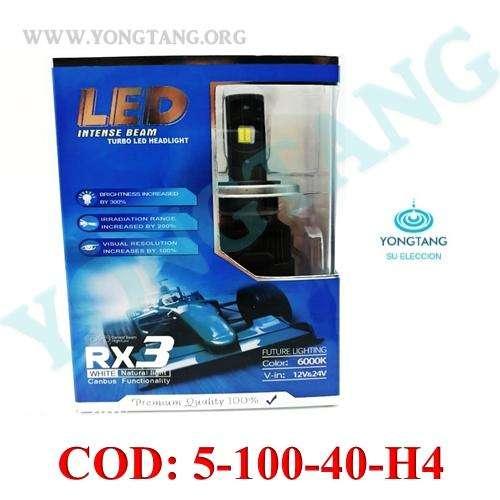 LED 40W 12V24V LUZ BLANCA PARA CARRO